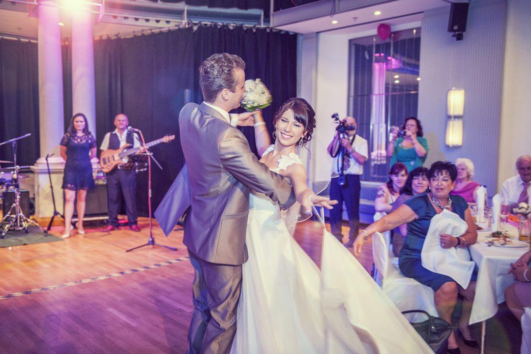Hochzeits-Reportage-Fotografie