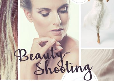 Beauty-Shooting mit Styling