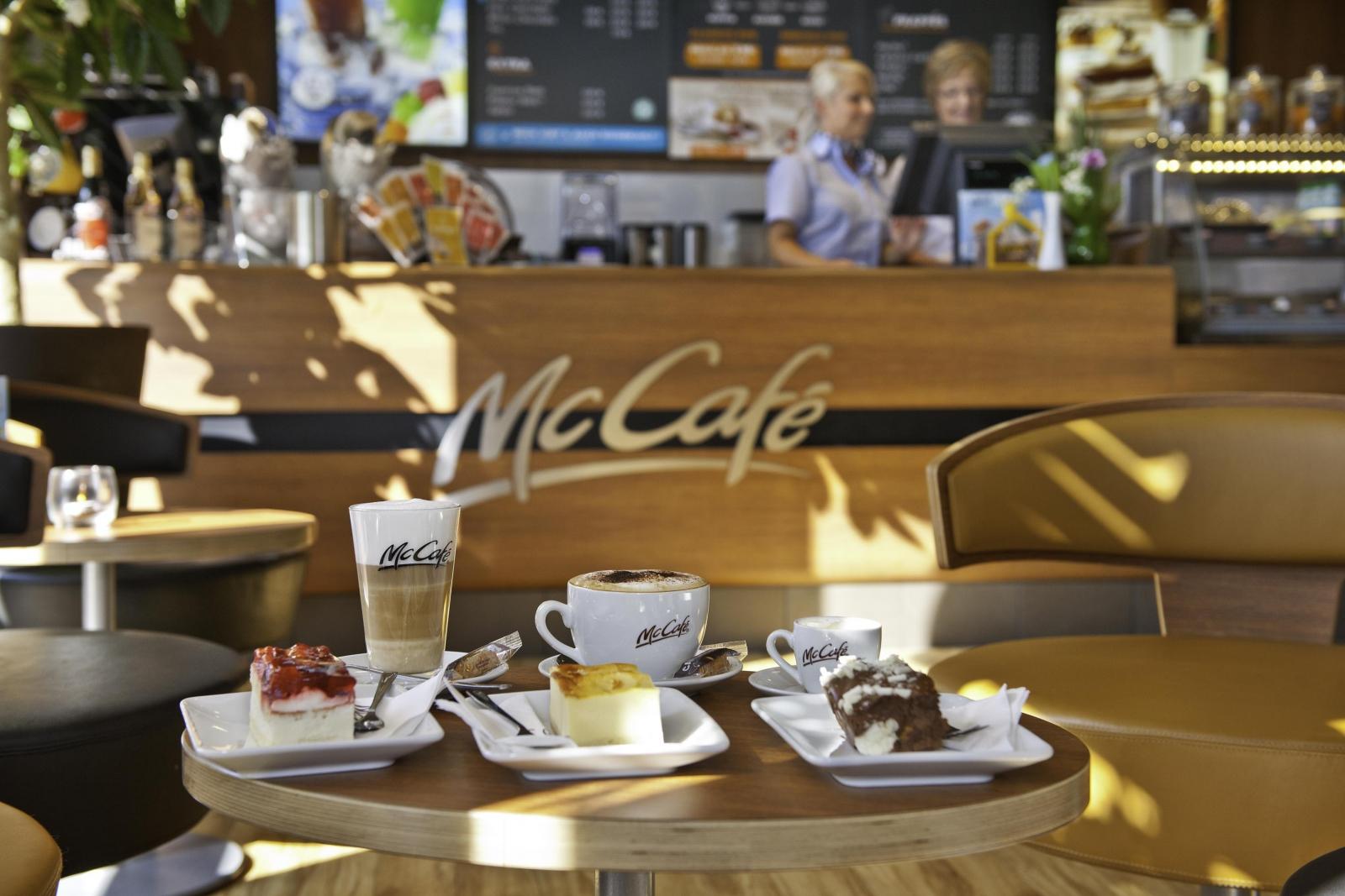 Werbefotos fürs McCafé Passau