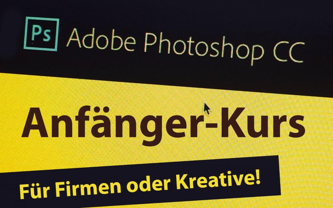 Photoshop-Kurs für Anfänger