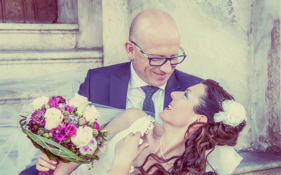 Natürliche Hochzeits-Portraits