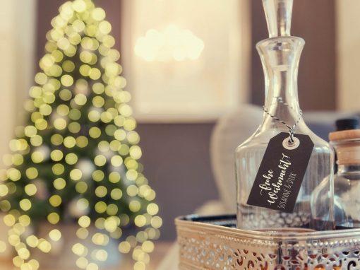 Gemütliche Weihnachtsgrüße