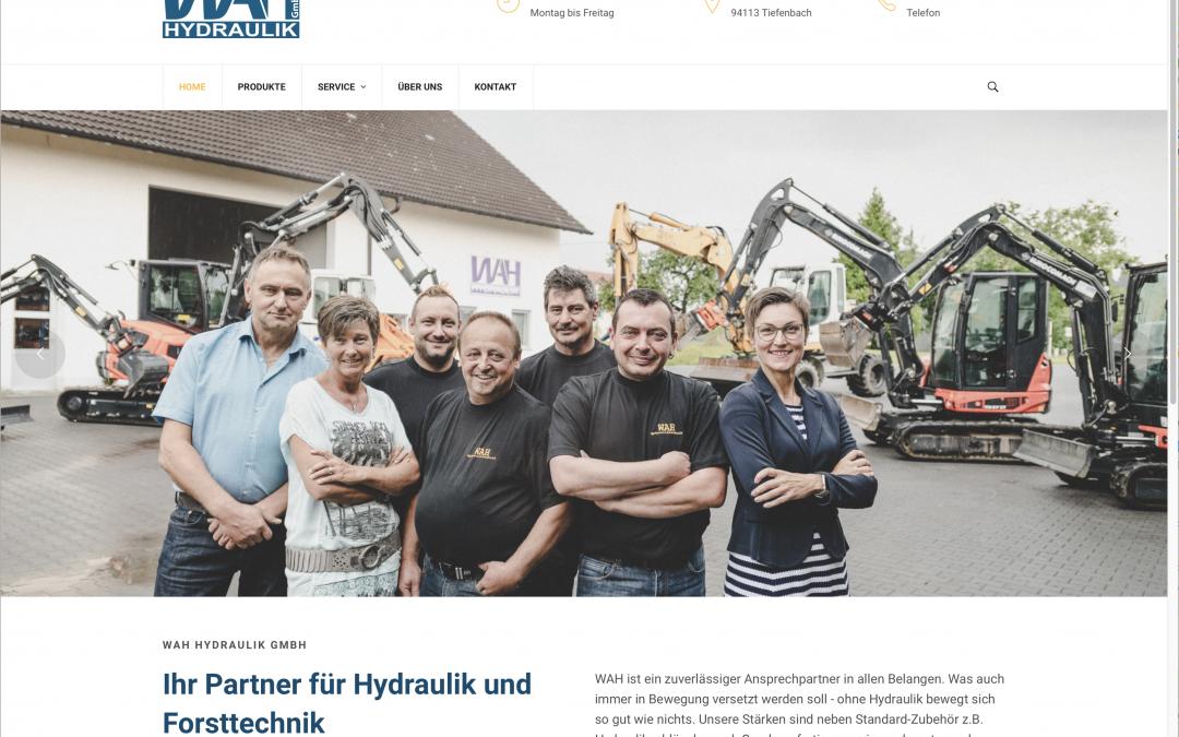 Neue Website für WAH