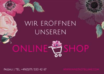 Online-Shop für Blumenladen